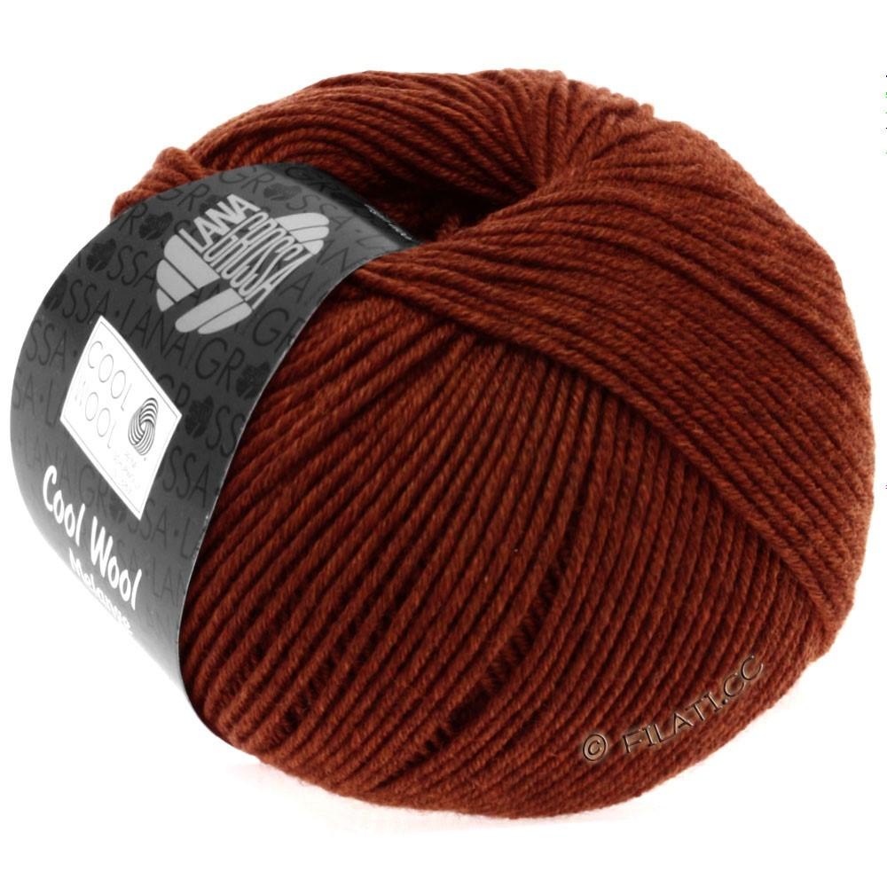 Lana Grossa COOL WOOL   Uni/Melange/Neon | 0129-chestnut mottled