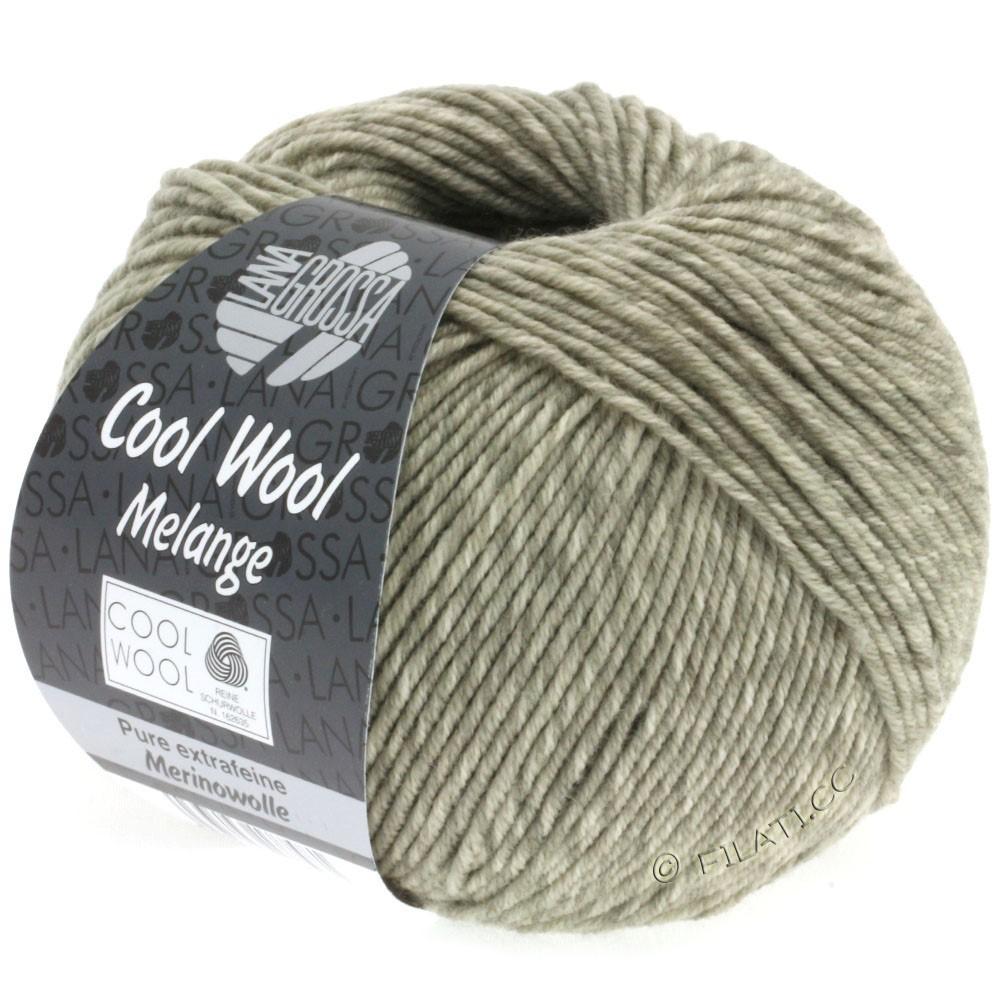Lana Grossa COOL WOOL  Uni/Melange/Print/Degradé/Neon | 0131-gray beige mottled