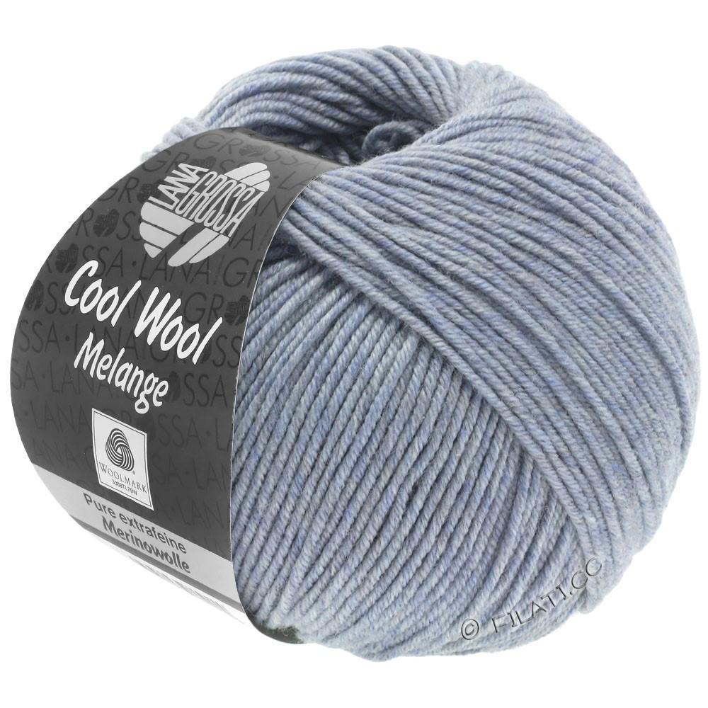 Lana Grossa COOL WOOL   Uni/Melange/Neon | 0154-gray blue mottled