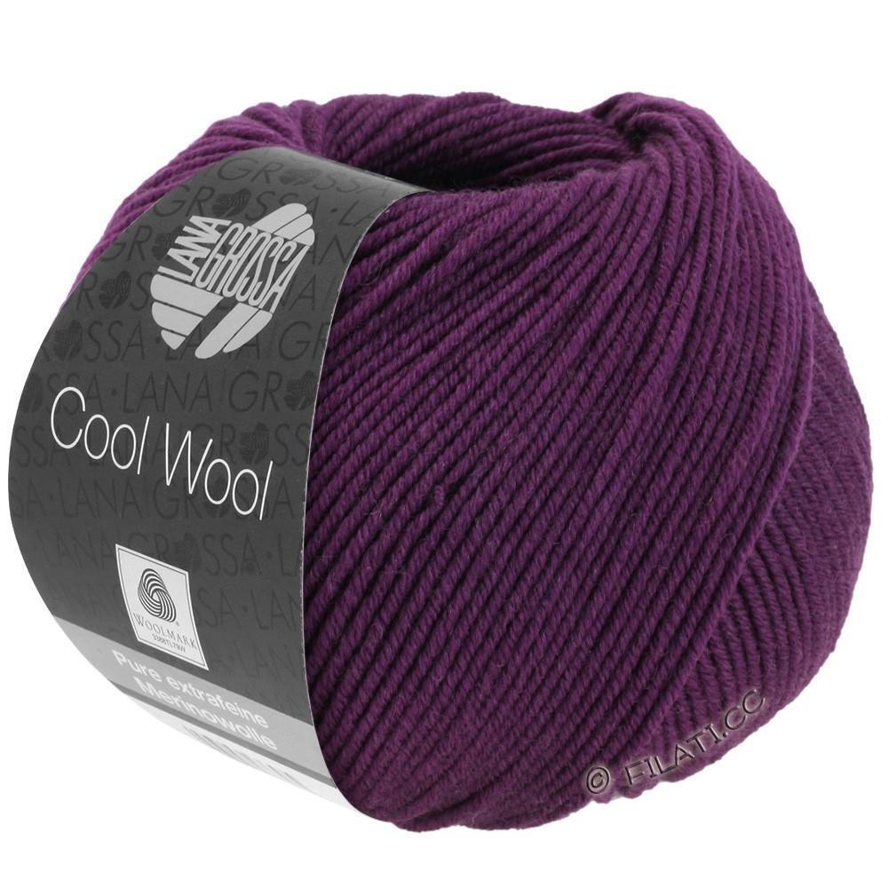 Lana Grossa COOL WOOL  Uni/Melange/Print/Degradé/Neon | 2023-dark violet