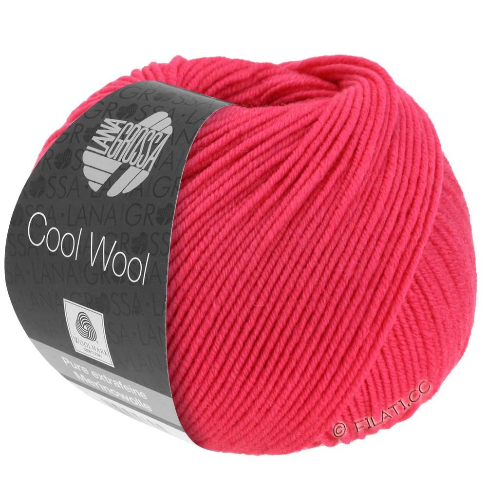 Lana Grossa COOL WOOL   Uni/Melange/Neon | 2043-raspberry