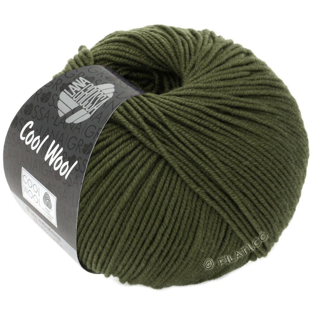 Lana Grossa COOL WOOL   Uni/Melange/Neon | 2051-moss green