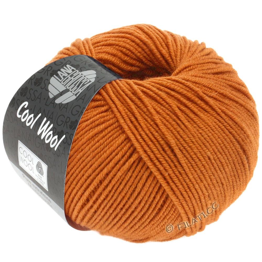 Lana Grossa COOL WOOL   Uni/Melange/Neon | 2053-orange brown
