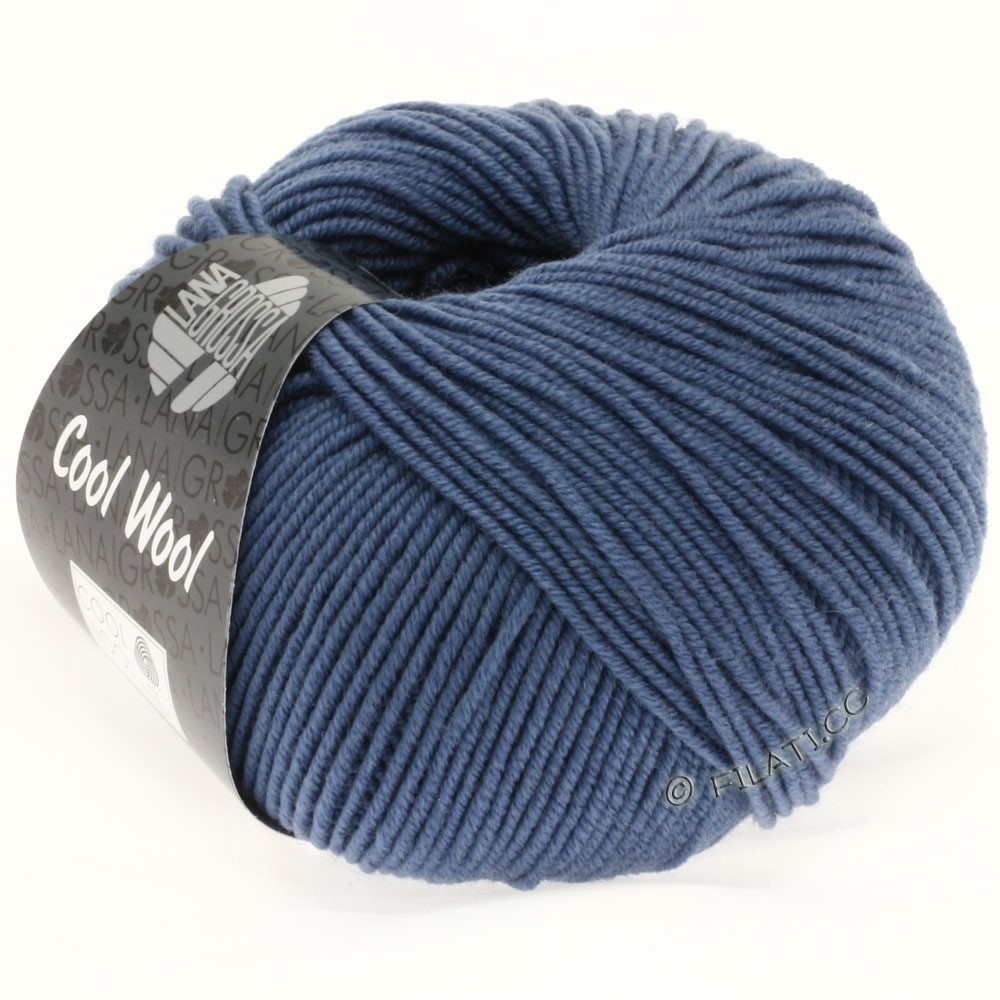 Lana Grossa COOL WOOL  Uni/Melange/Print/Degradé/Neon | 0557-jeans