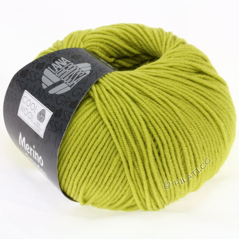 Lana Grossa COOL WOOL   Uni/Melange/Neon | 0588-pistachio