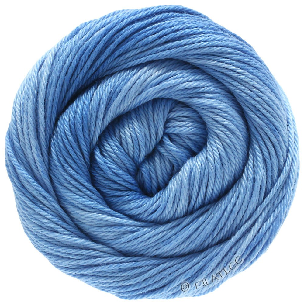 Lana Grossa COTONE Degradé | 208-light blue/sky blue/blue