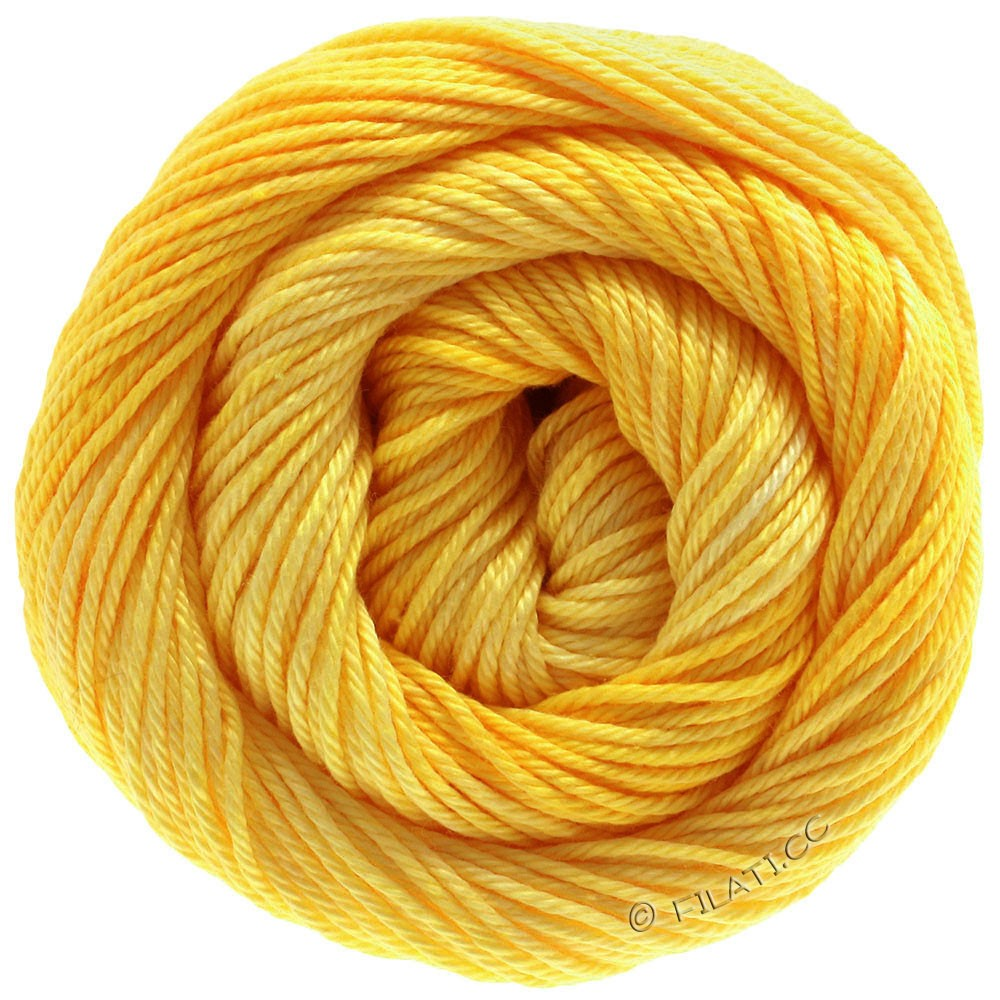 Lana Grossa COTONE Degradé | 210-yellow/sun yellow