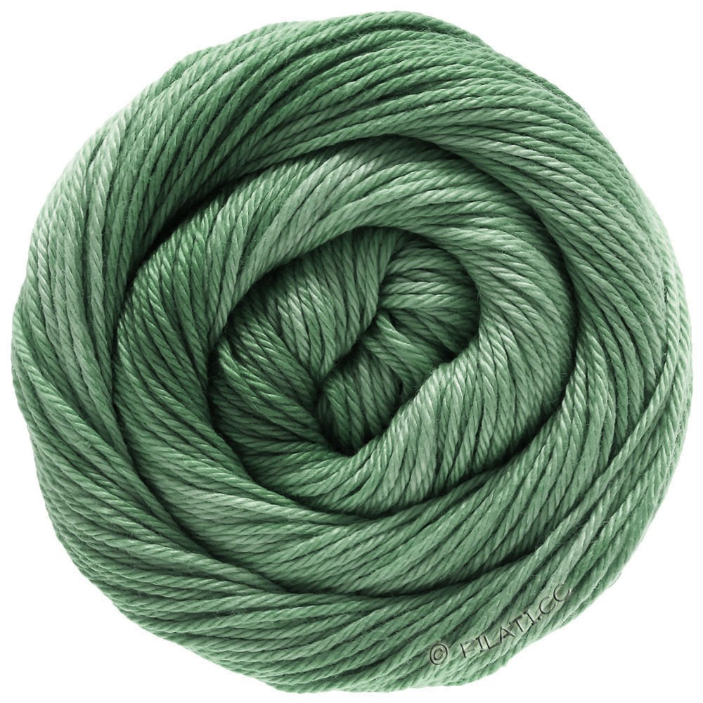 Lana Grossa COTONE Degradé | 211-gray green/reseda green