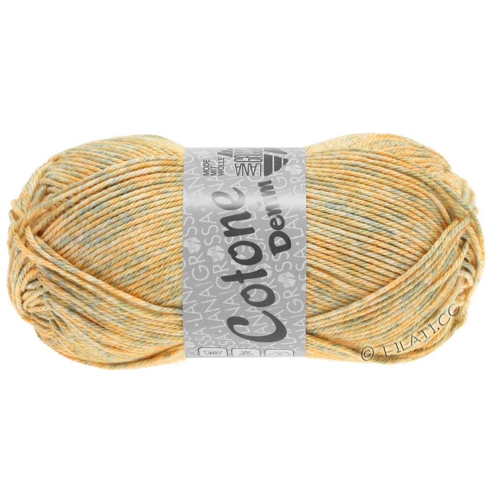 Lana Grossa COTONE  Print/Denim | 706-beige/subtle gray