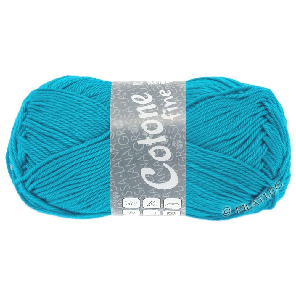 Lana Grossa COTONE FINE | 610-turquoise blue