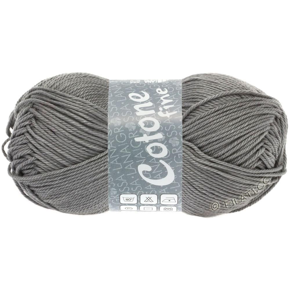 Lana Grossa COTONE FINE | 619-dark gray