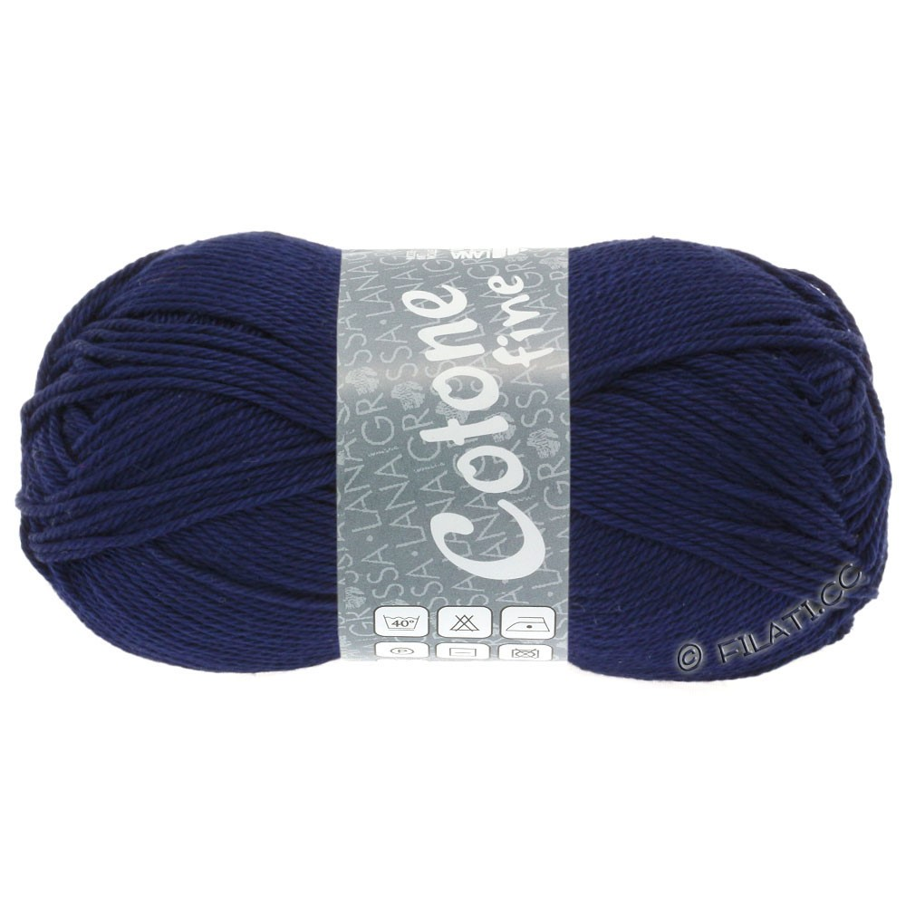 Lana Grossa COTONE FINE | 620-night blue