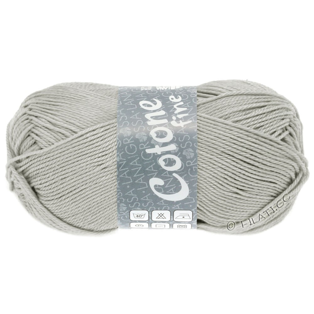 Lana Grossa COTONE FINE | 627-light gray