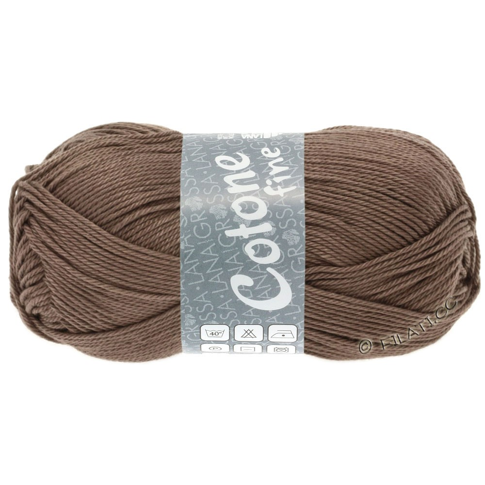 Lana Grossa COTONE FINE | 630-gray brown