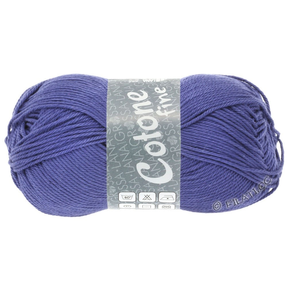 Lana Grossa COTONE FINE | 662-violet blue