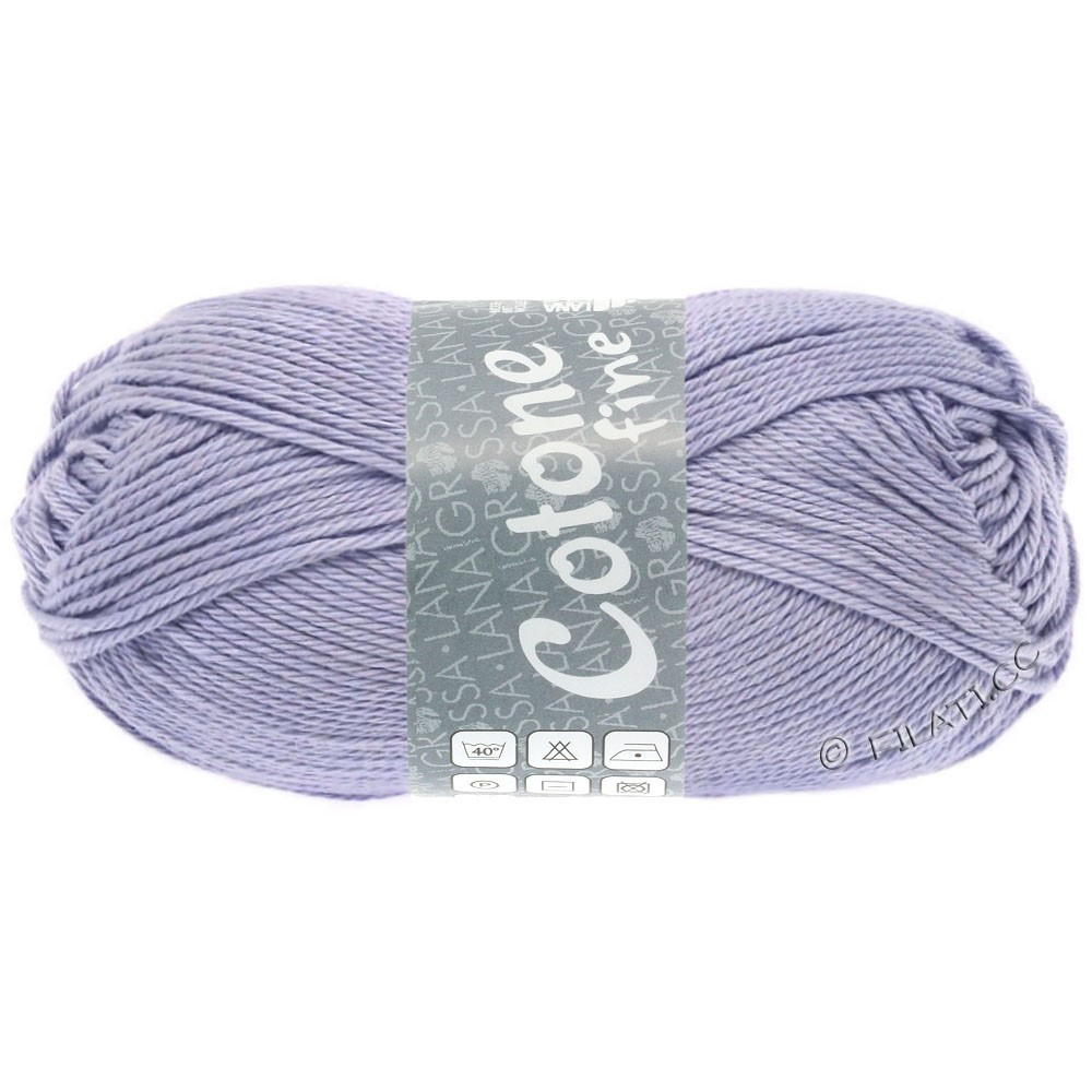 Lana Grossa COTONE FINE | 672-light purple