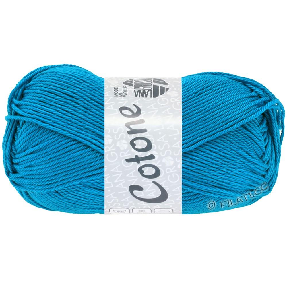 Lana Grossa COTONE Uni | 10-turquoise blue