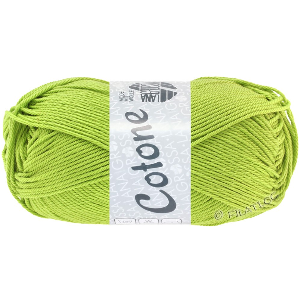 Lana Grossa COTONE Uni | 23-pistachio