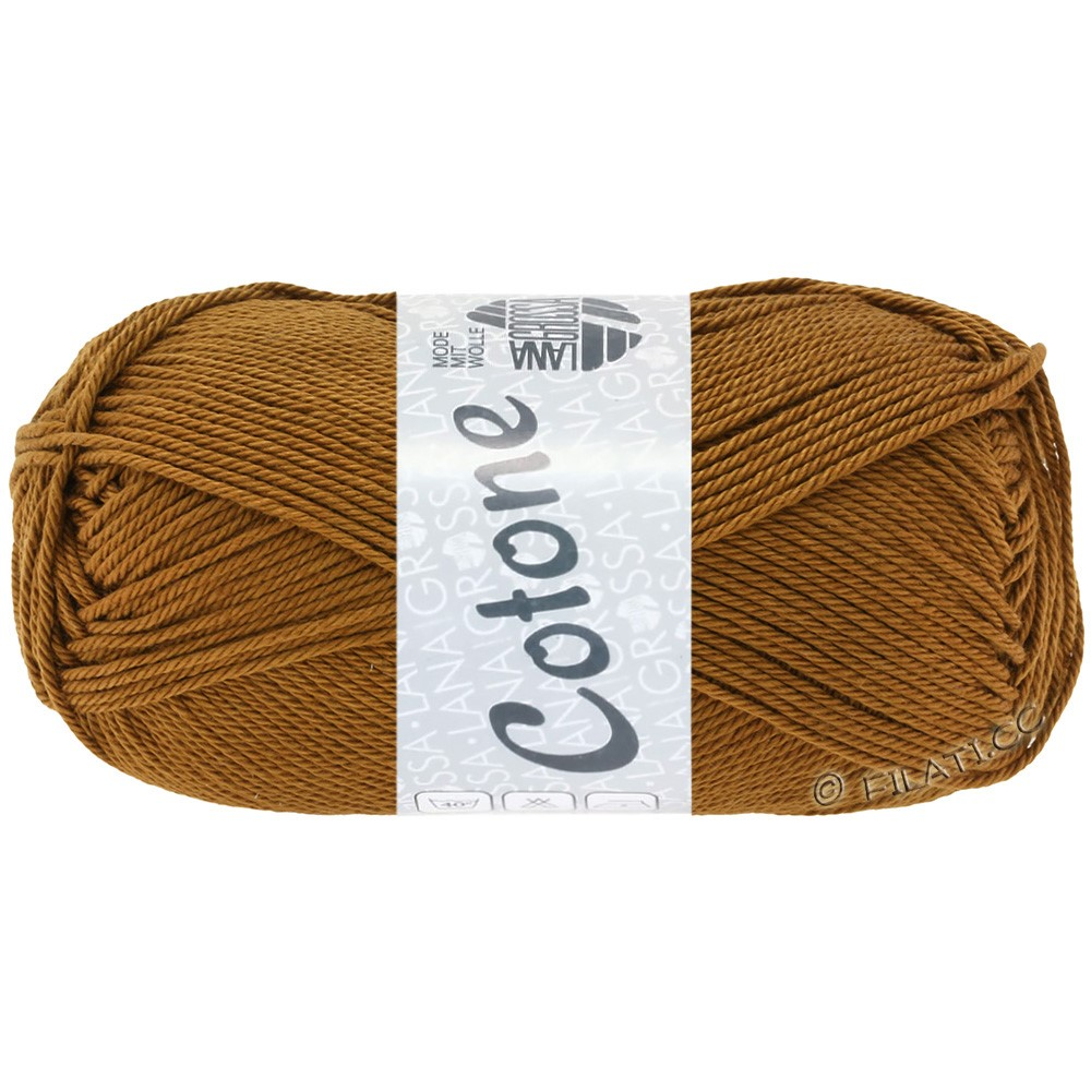 Lana Grossa COTONE Uni | 37-brown