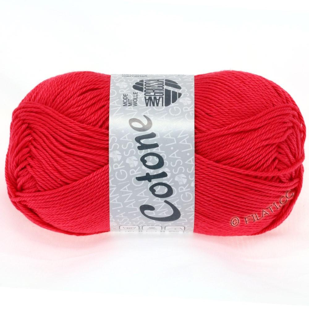 Lana Grossa COTONE Uni | 41-raspberry