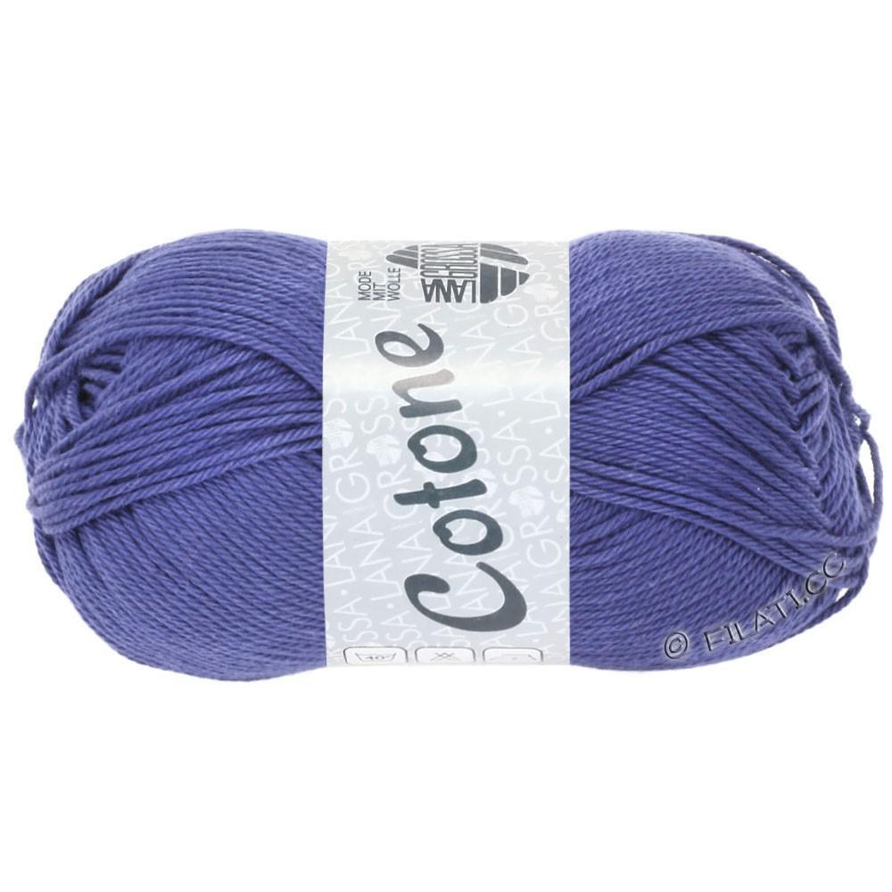Lana Grossa COTONE Uni | 62-violet blue