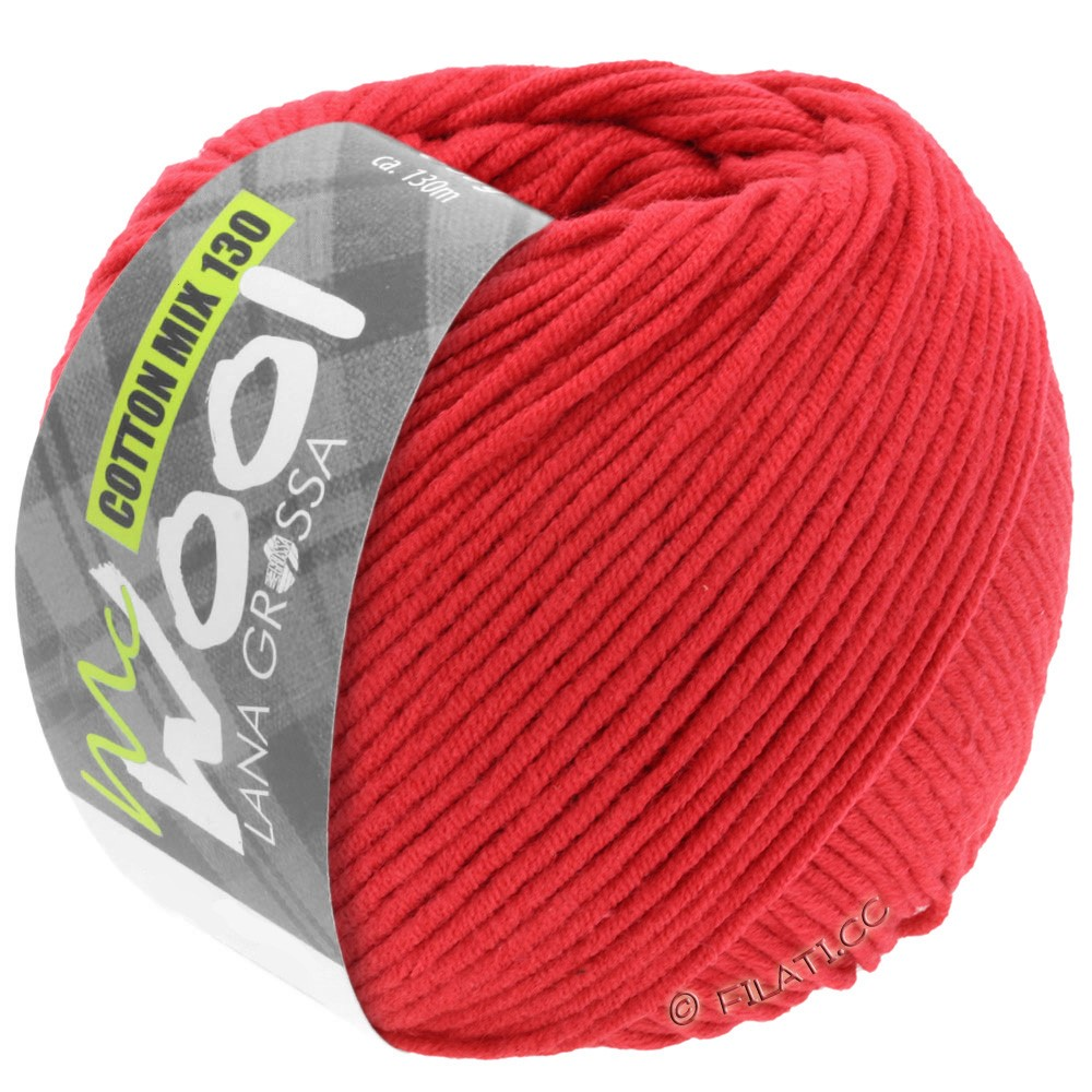 Lana Grossa COTTON MIX 130 (McWool) | 103-red