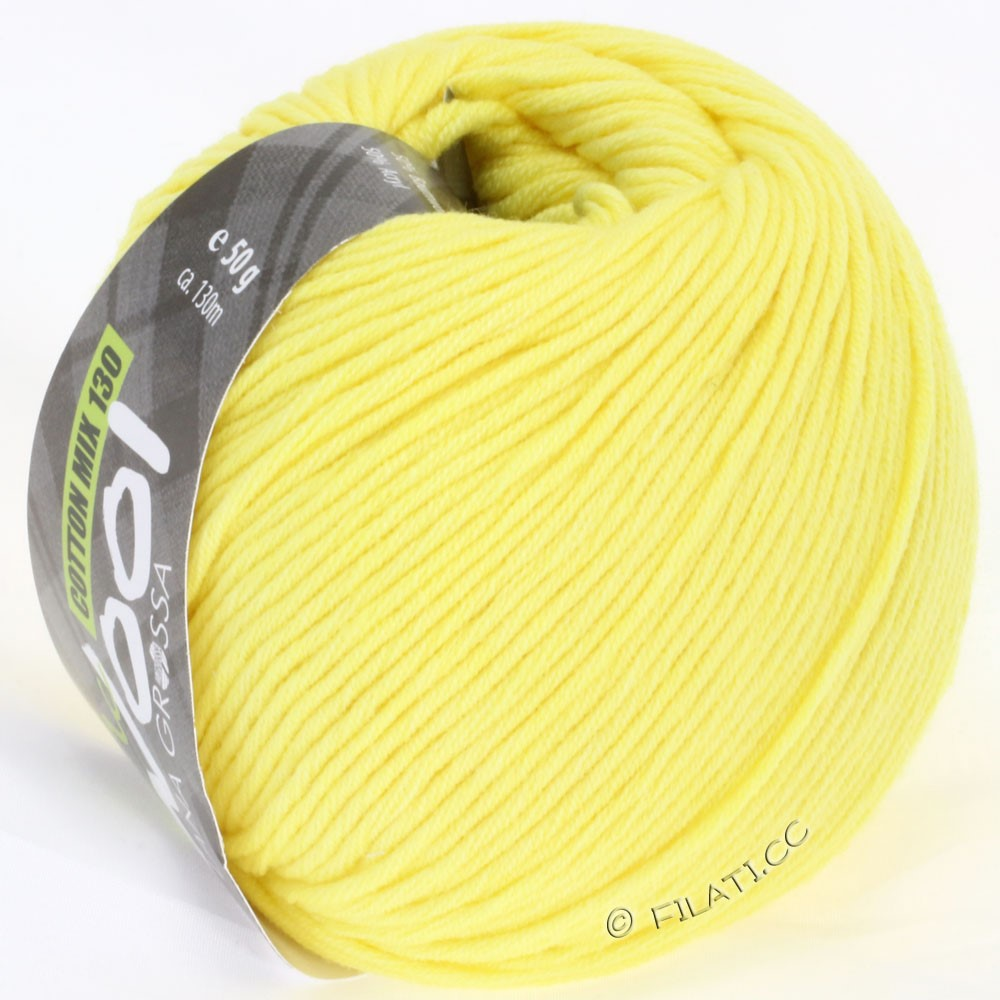 Lana Grossa COTTON MIX 130 (McWool) | 108-yellow