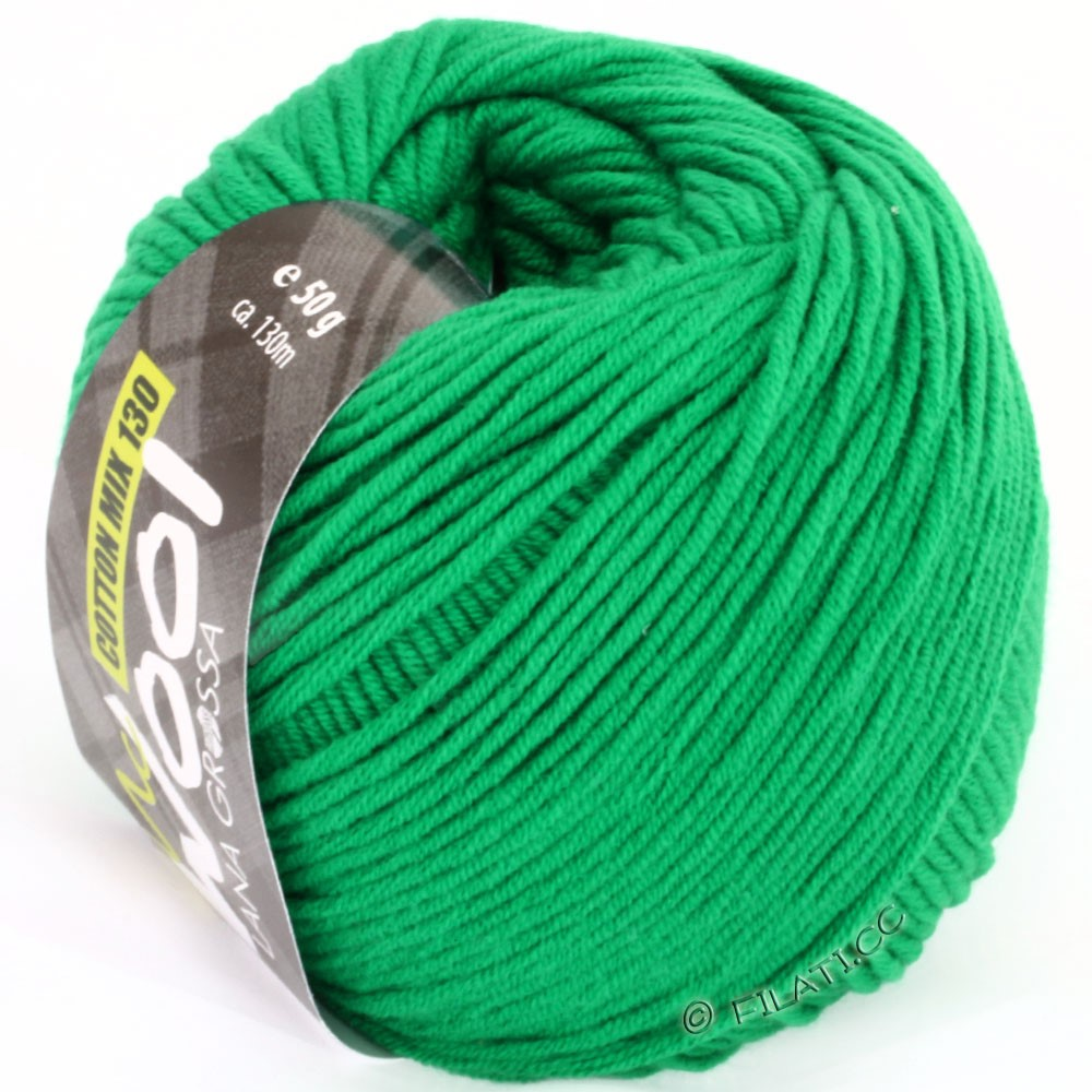 Lana Grossa COTTON MIX 130 (McWool) | 110-green