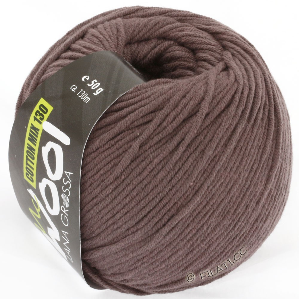 Lana Grossa COTTON MIX 130 (McWool) | 114-gray brown