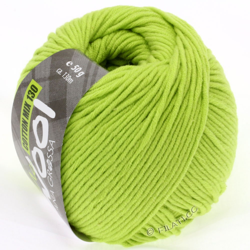 Lana Grossa COTTON MIX 130 (McWool) | 119-yellow green