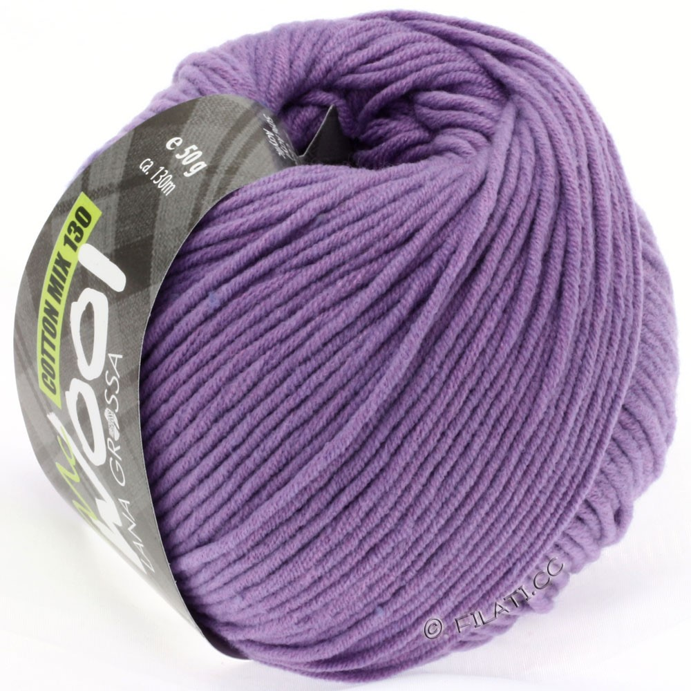 Lana Grossa COTTON MIX 130 (McWool) | 123-purple