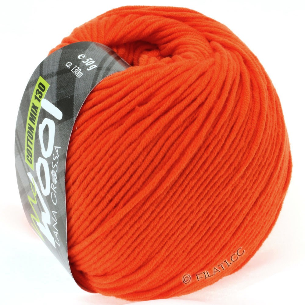 Lana Grossa COTTON MIX 130 (McWool) | 125-mandarin