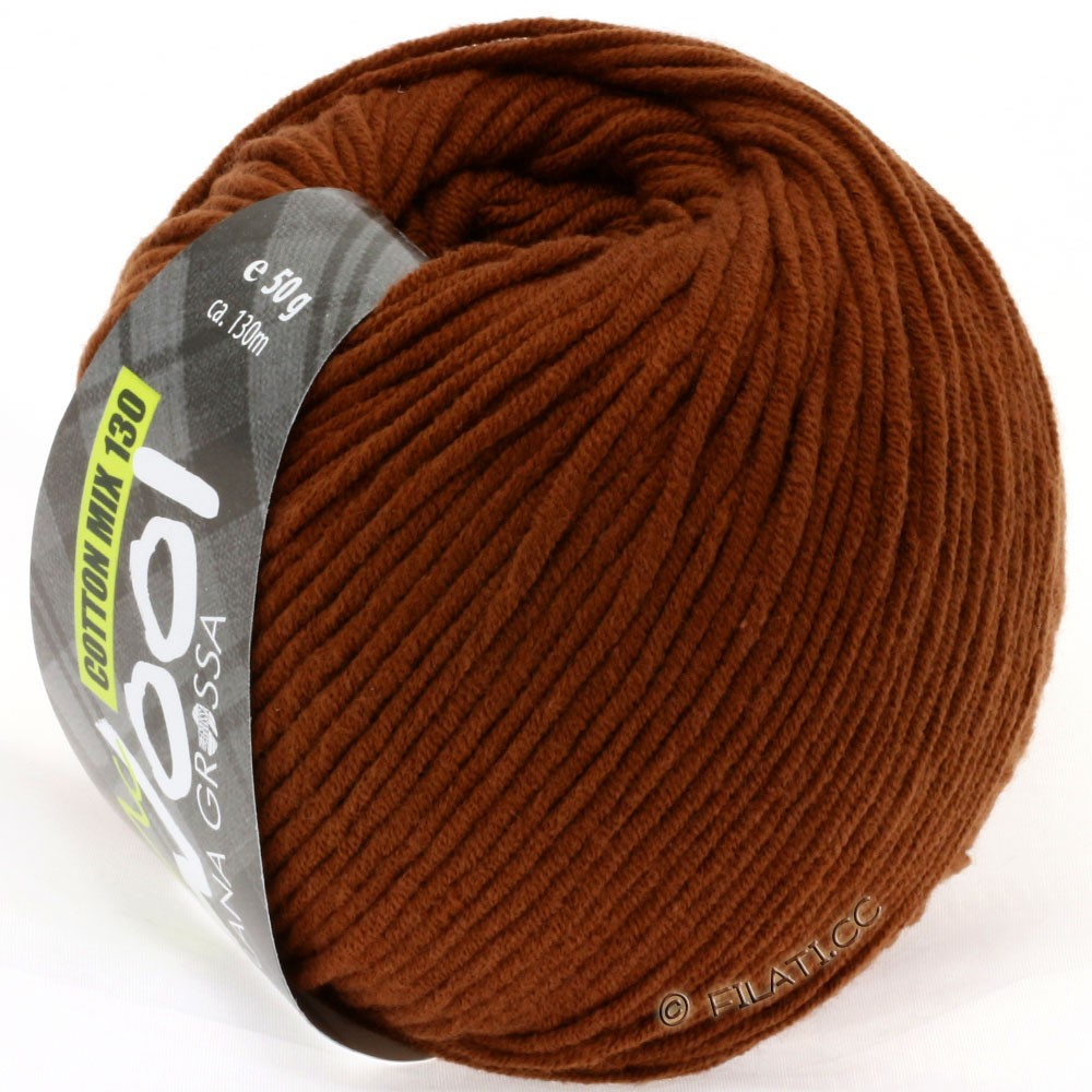 Lana Grossa COTTON MIX 130 (McWool) | 126-brown
