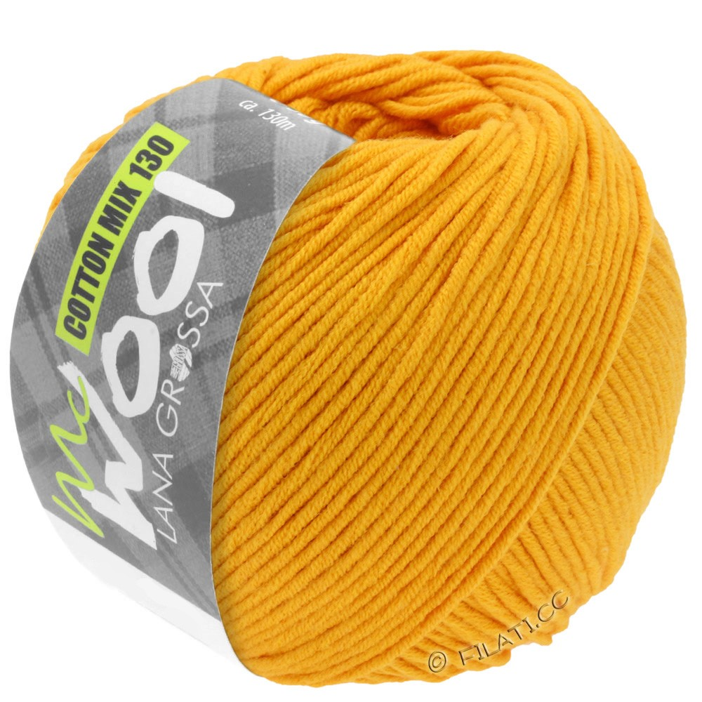 Lana Grossa COTTON MIX 130 (McWool) | 127-corn yellow