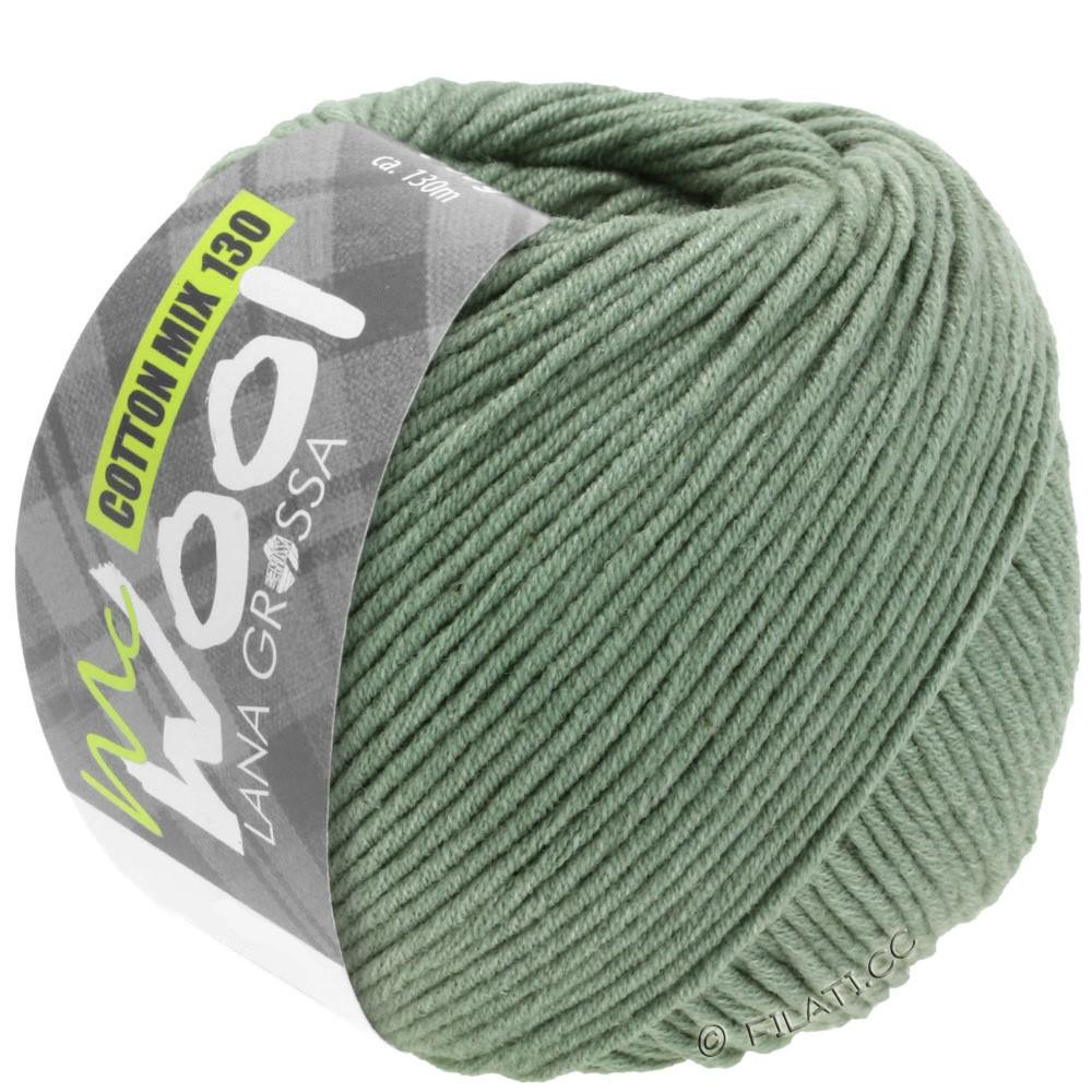 Lana Grossa COTTON MIX 130 (McWool) | 129-gray green