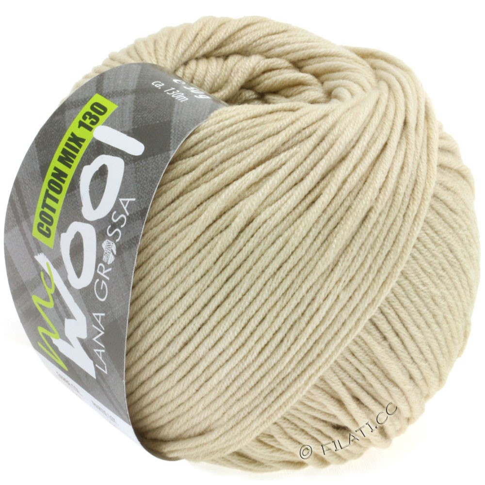 Lana Grossa COTTON MIX 130 (McWool) | 130-natural