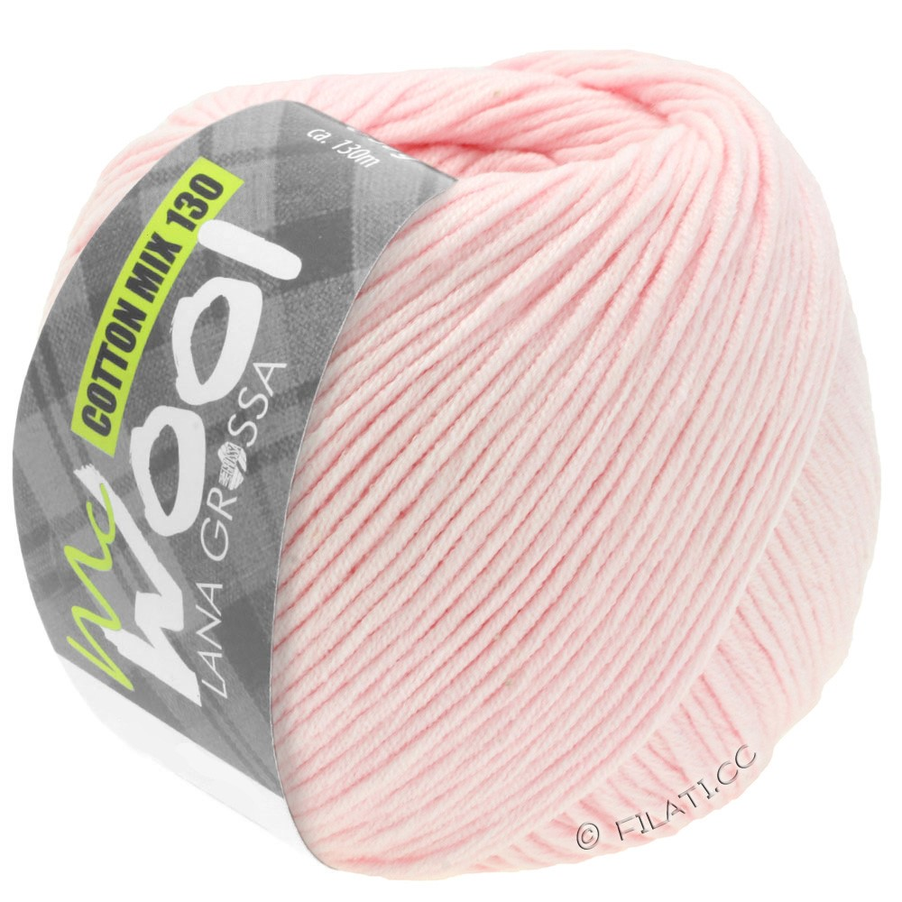Lana Grossa COTTON MIX 130 (McWool) | 131-rose