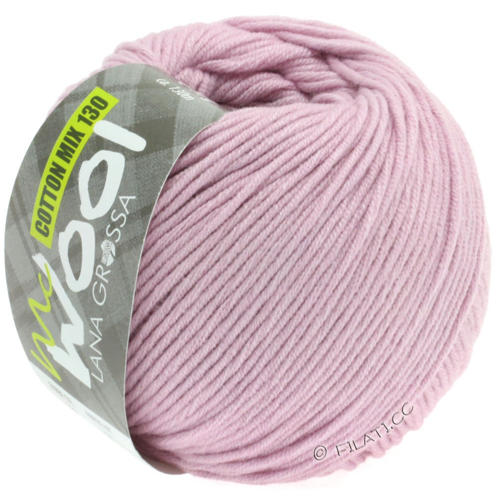 Lana Grossa COTTON MIX 130 (McWool) | 132-antique pink