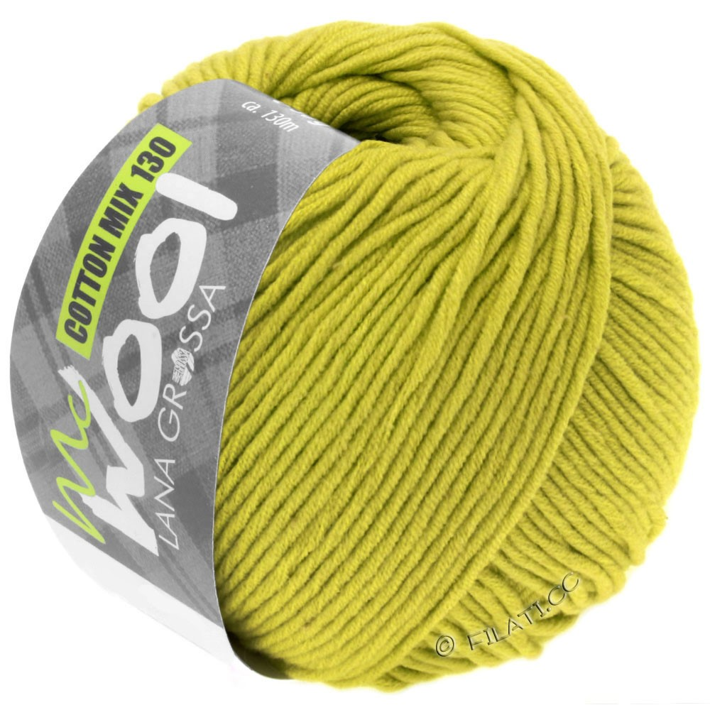Lana Grossa COTTON MIX 130 (McWool) | 134-pistachio