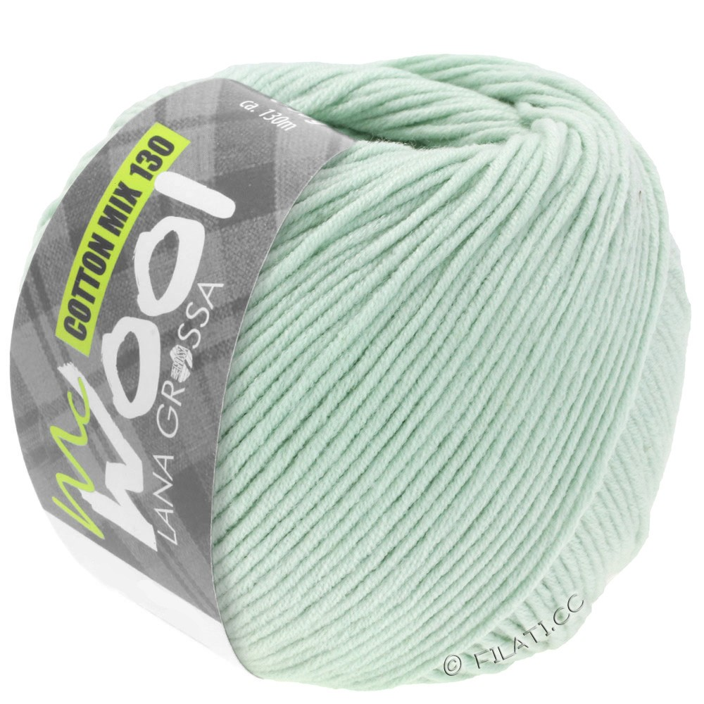 Lana Grossa COTTON MIX 130 (McWool) | 136-subtle green