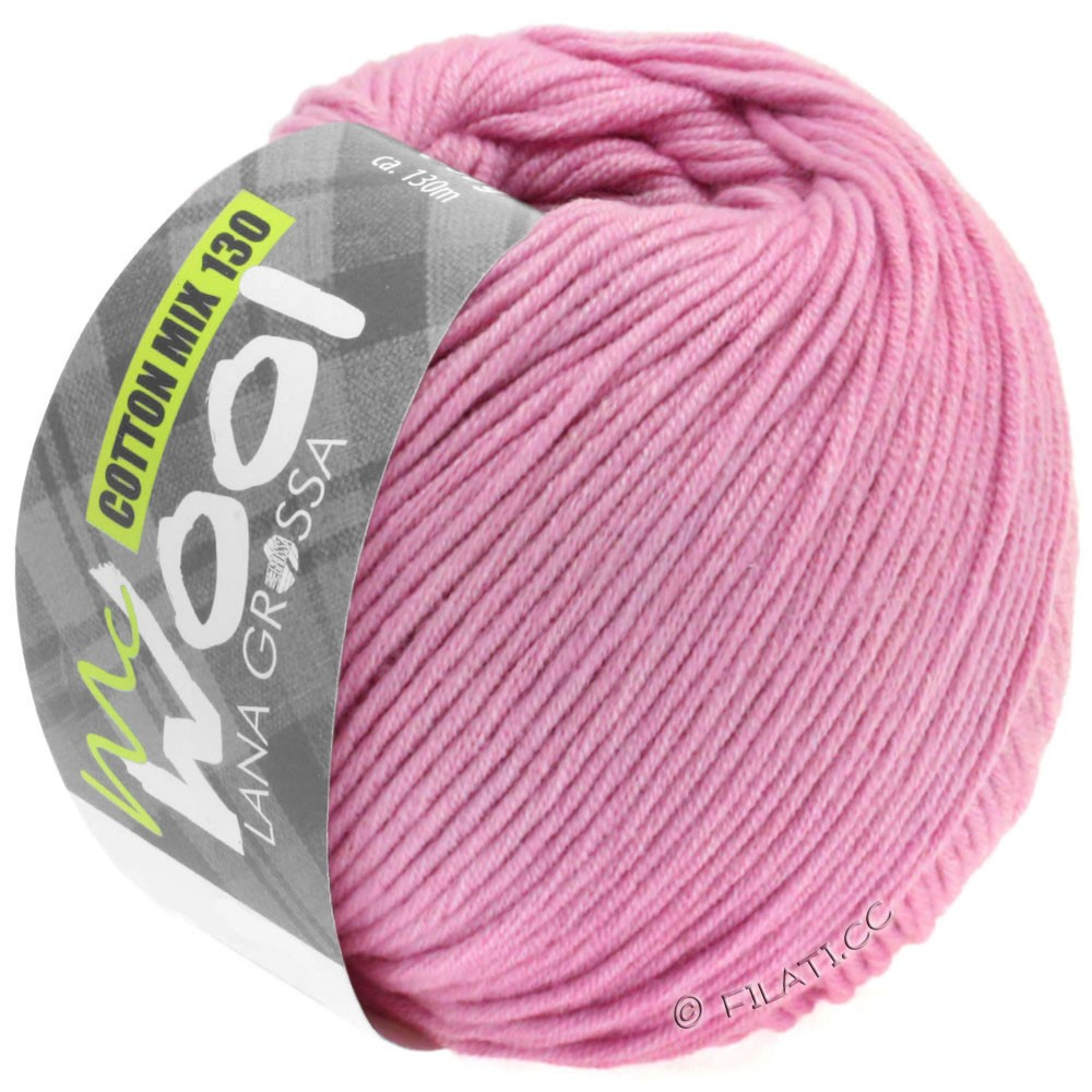 Lana Grossa COTTON MIX 130 (McWool) | 140-carnation