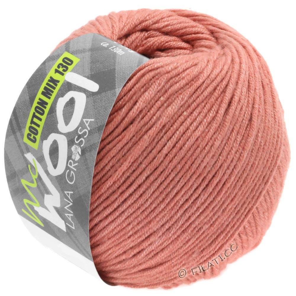 Lana Grossa COTTON MIX 130 (McWool) | 141-copper red