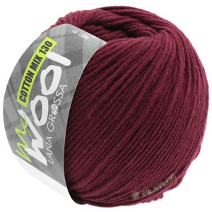 Lana Grossa COTTON MIX 130 (McWool) | 142-wine red