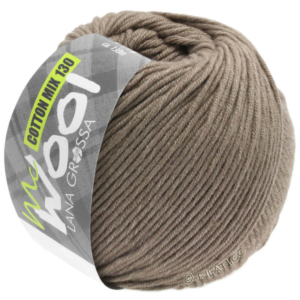Lana Grossa COTTON MIX 130 (McWool) | 144-beige brown