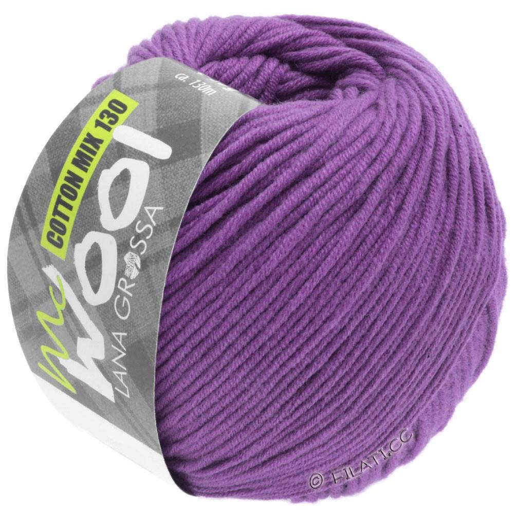 Lana Grossa COTTON MIX 130 (McWool)   147-purple