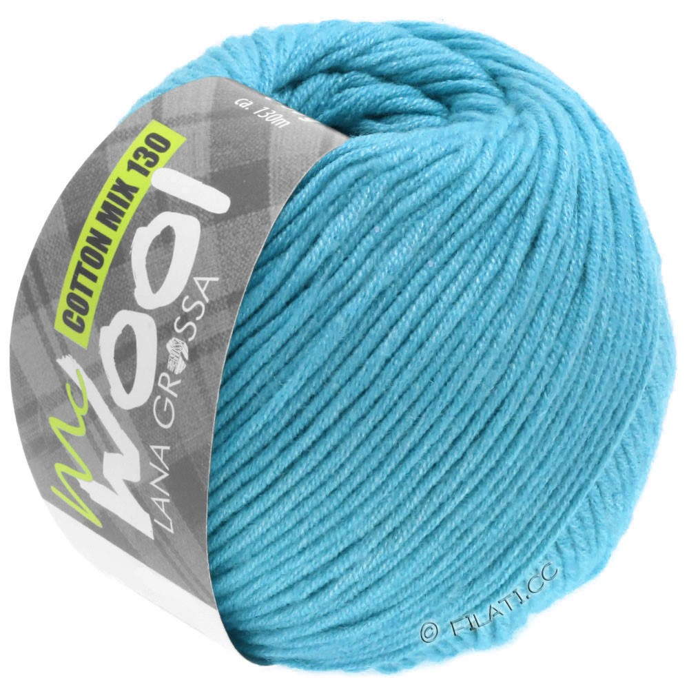 Lana Grossa COTTON MIX 130 (McWool)   149-turquoise