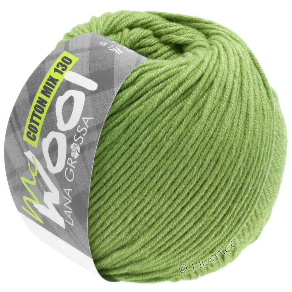 Lana Grossa COTTON MIX 130 (McWool) | 152-linden green