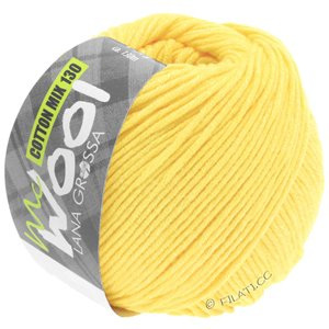 Lana Grossa COTTON MIX 130 (McWool) | 155-subtle yellow