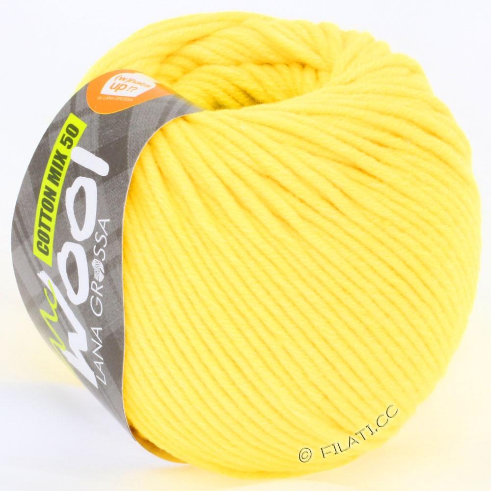 Lana Grossa COTTON MIX 50/100g (McWool) | 01-yellow