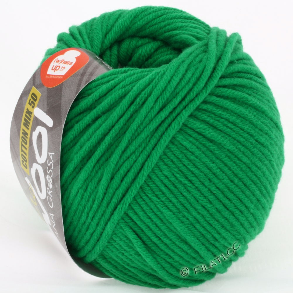 Lana Grossa COTTON MIX 50/100g (McWool) | 07-green